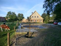 Baustelle Biotop-Bienenhaus