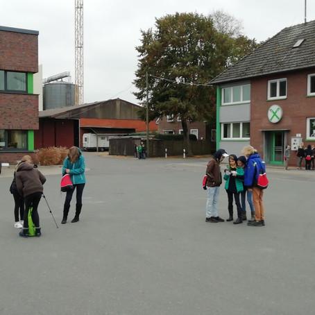 Filmprojekt sorgt für Aufregung an der Lagerstraße - Appell der Kinder zur Mitwirkung wiederholt