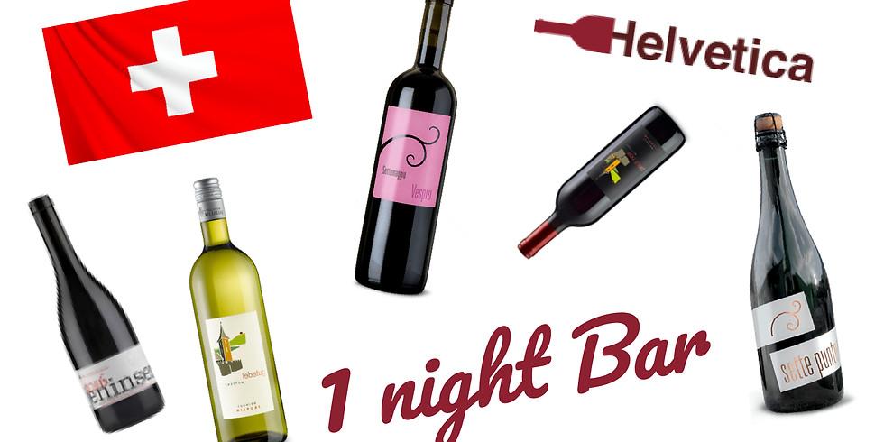 Swiss Wine 1 night Bar