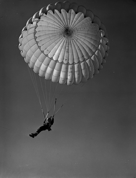 Skydiving Vintage