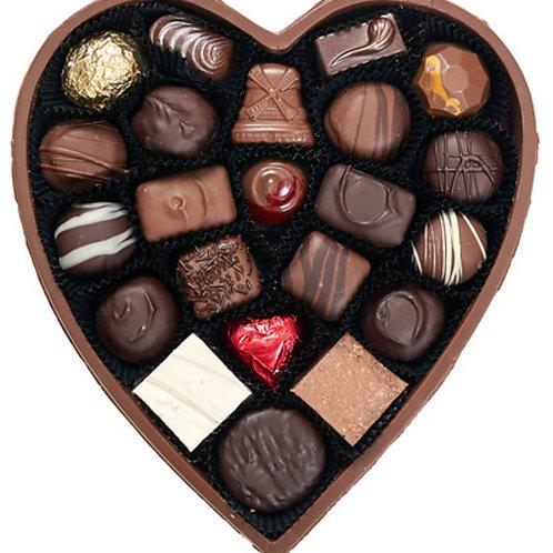 Mordens' Heart Chocolates