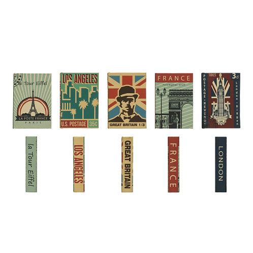 Canvas Book Storage