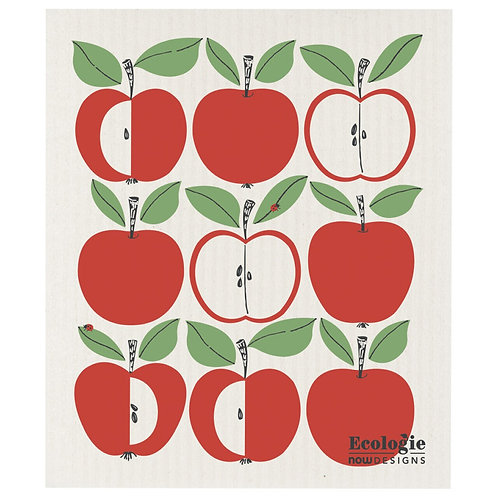 Swedish Dish Cloth - Apples