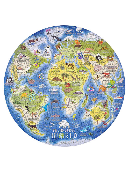 Endangered World Jigsaw Puzzle 1000Pcs