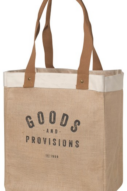 Market Tote - Goods & Provisions