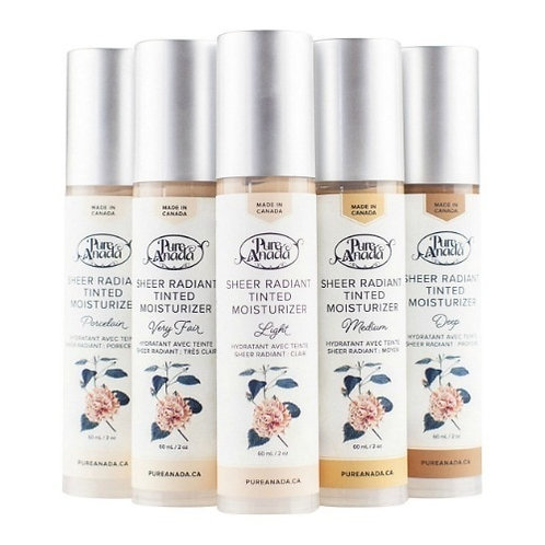 Tinted Moisturizers by Pure Anada