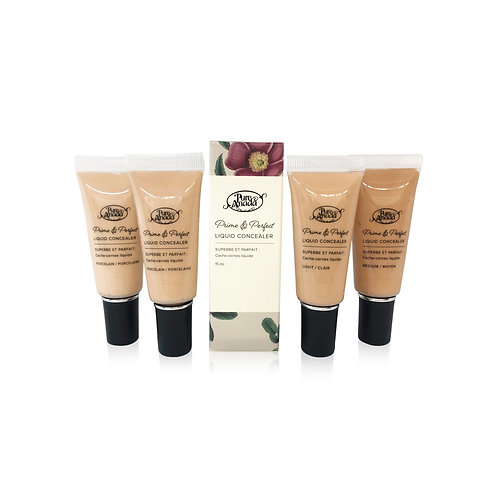 Prime & Perfect Liquid Concealer (4 Shades)
