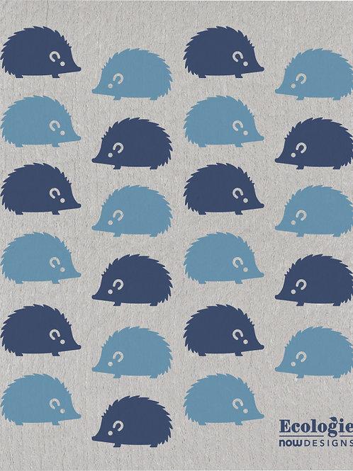 Swedish Dish Cloth - Happy Hedgehog