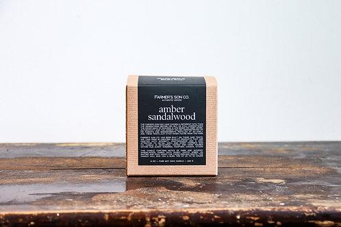 Farmer's Son Co. - Amber & Sandalwood