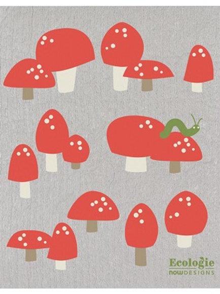 Swedish Dish Cloth - Totally Toadstools