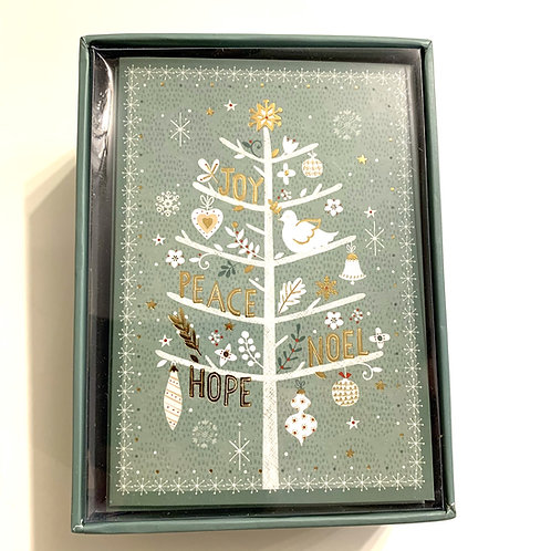 Holiday Greeting Cards Box Set - Joyful Tidings