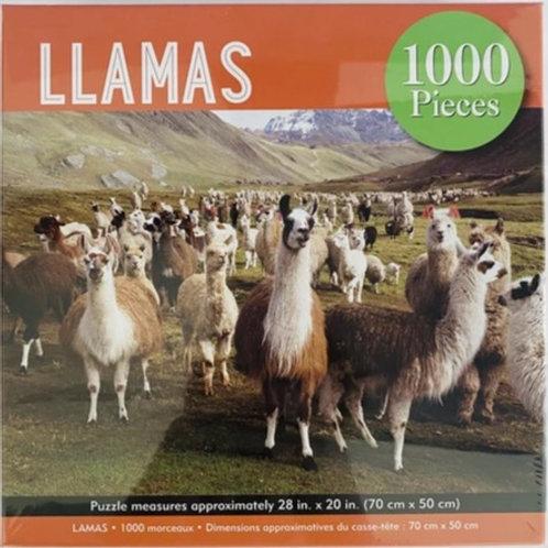 Puzzle - Llamas