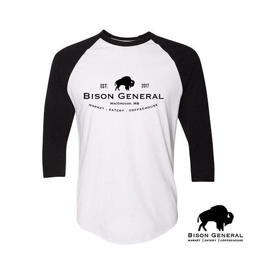 Bison General Baseball T's