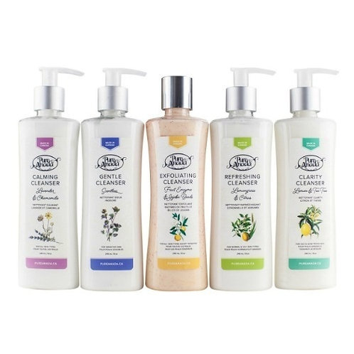 Cleansers by Pure Anada