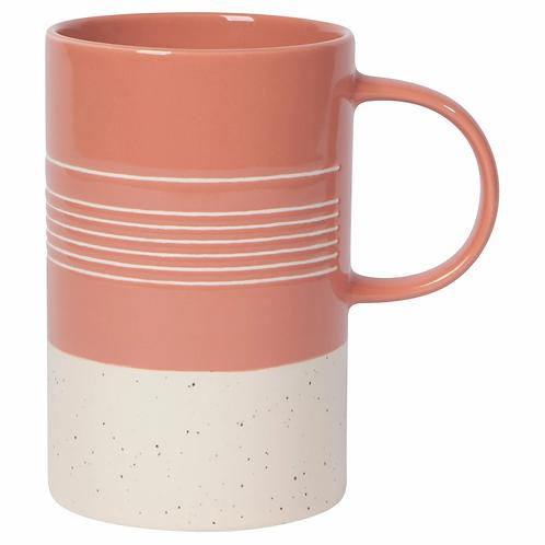 Etch Clay Mug