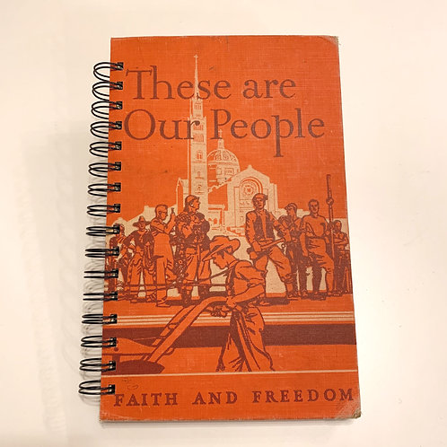 Dreaming Tree Paper Co. - These are Our People Journal