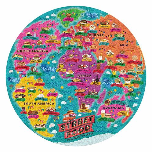Street Food Lovers Jigsaw Puzzle 1000Pcs