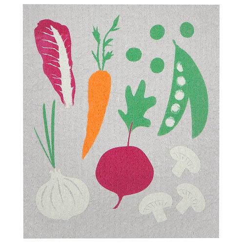 Swedish Dish Cloth - Veggies
