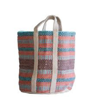 Jute Striped Bag