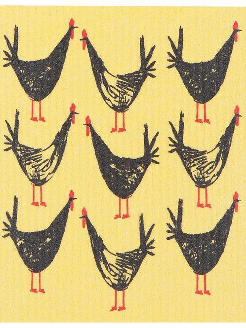 Swedish Dish Cloth - Chicken Scratch