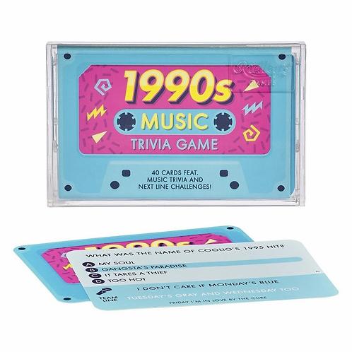 1990's Music Trivia Game