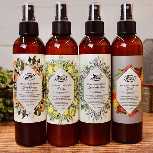Room & Linen Mists by Pure Anada