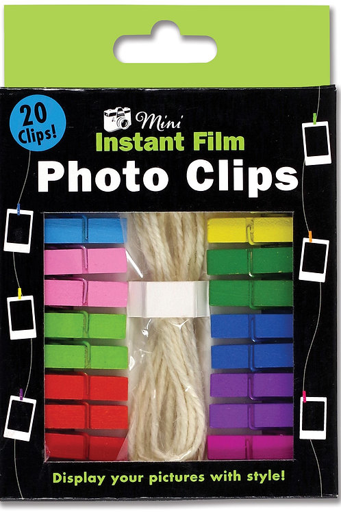 Mini Instant Film Photo Clips