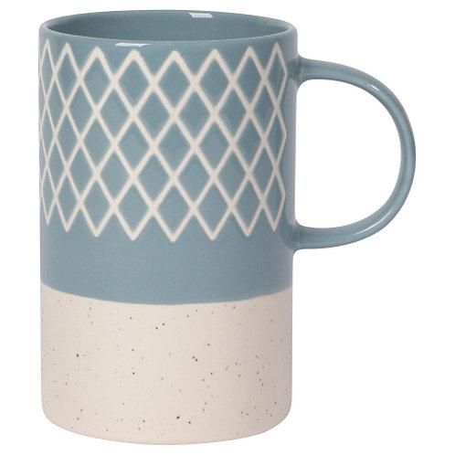 Etch Slate Blue Mug