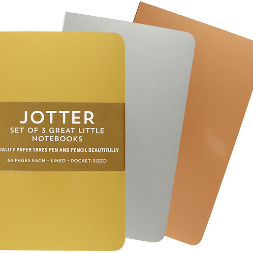 Jotter Foil Notebooks