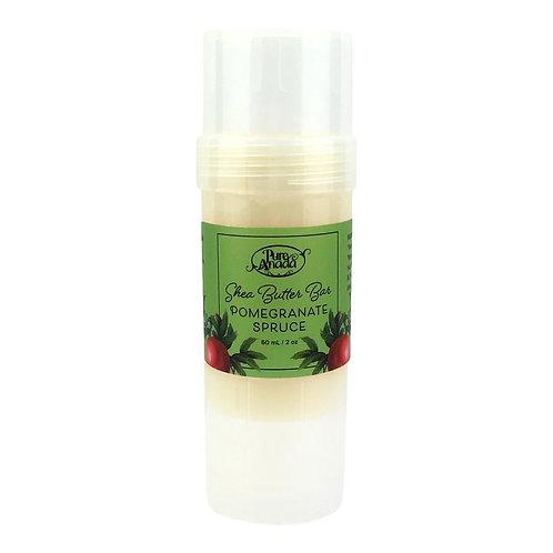 Shea Butter Bar - Pomegranate Spruce