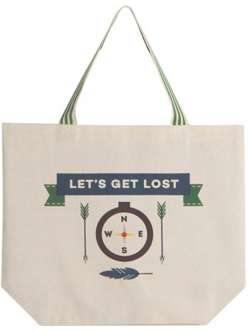Lets Get Lost Tote