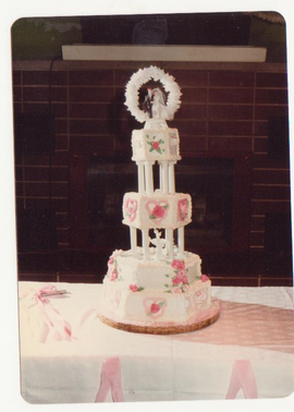4 Tiered Wedding