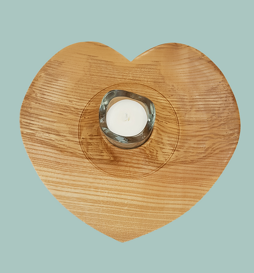 HEART CANDLE/T-LIGHT HOLDER