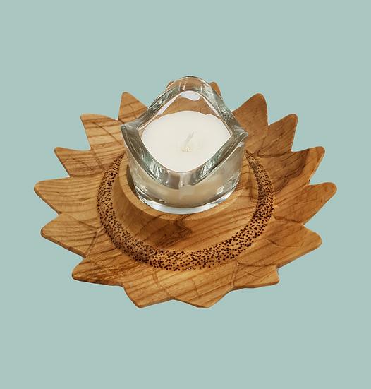 SUNFLOWER CANDLE/T-LIGHT HOLDER