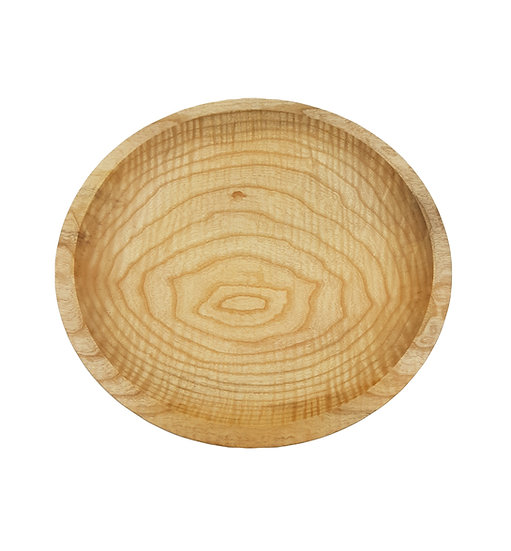 Rippled Ash Platter