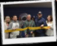 Katie Beerman, Dan Beerman, Scott, Nevenhoven, and Kasha Nevenhoven at Superior Hockey's ribbon cutting