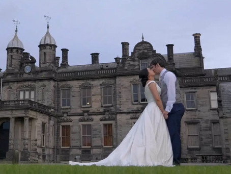 Wedding Videographer - Sandon Hall - Sandon - Staffordshire - Laura & Robert