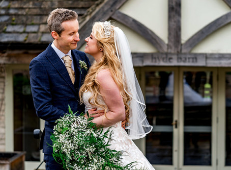 Cotswolds Wedding Photographer - Wedding Videographer - Hyde Barn - Cotswolds - Jenny & Matthew