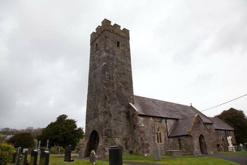 St Cyndeyrn Church, Llangyndeyrn