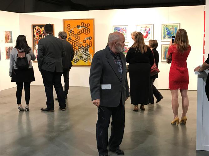 Manny Blair Art Exhibition Sept 2018 AN