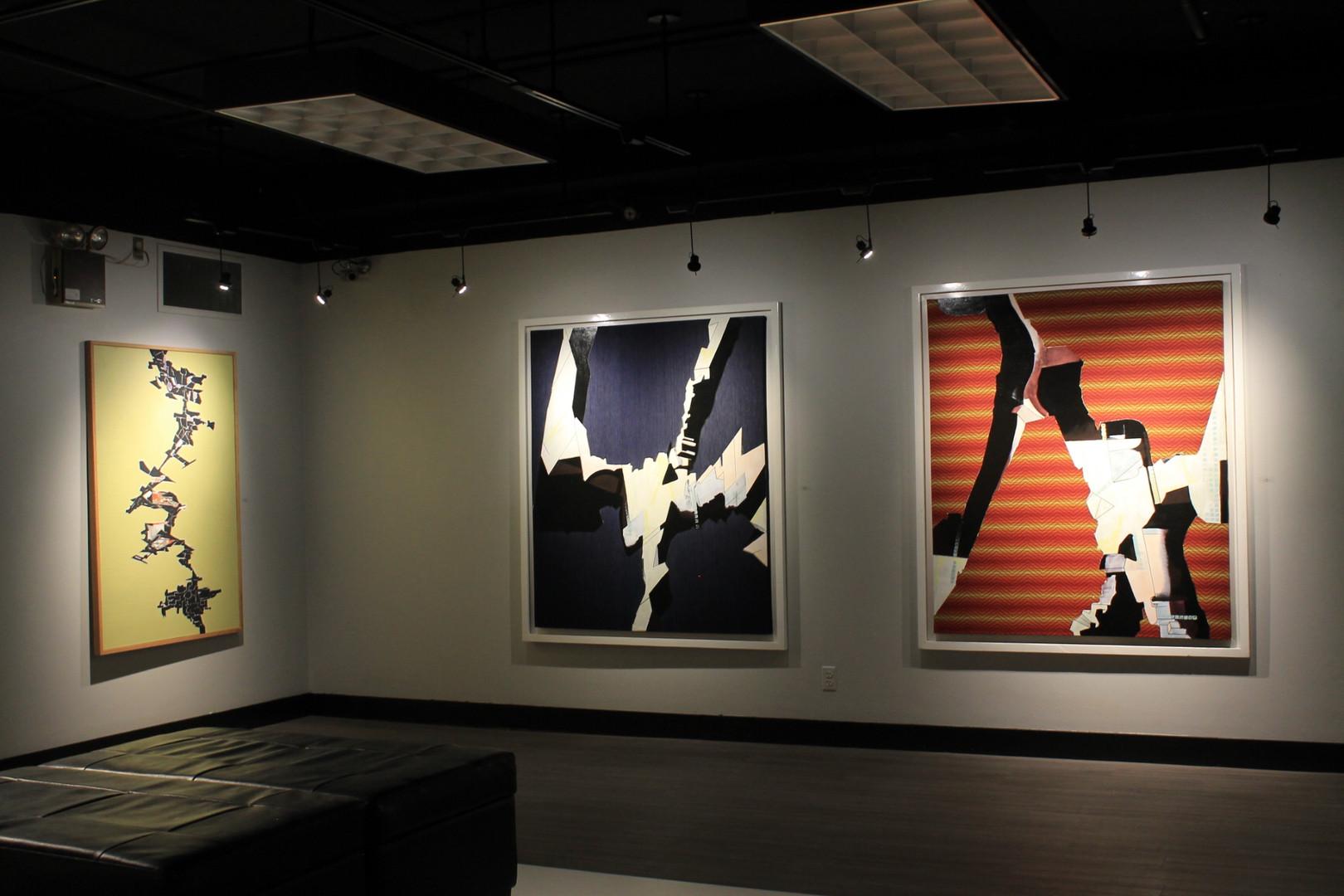 Manny Blair Art Exhibition Jan 2018 OAG