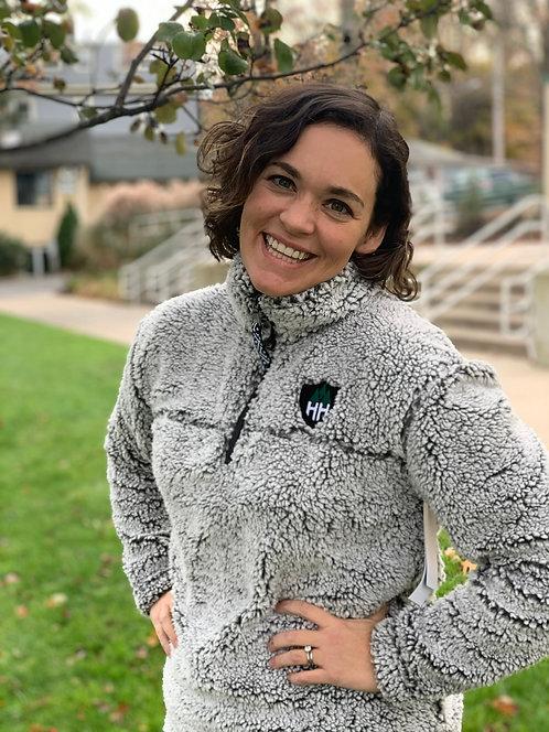 Unisex 1/4 Zip Fleece Pullover