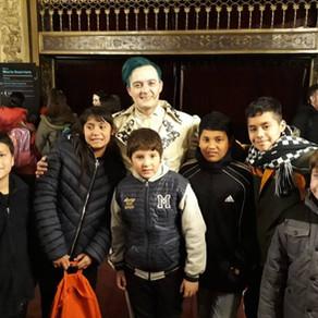 visita al Teatro Cervantes
