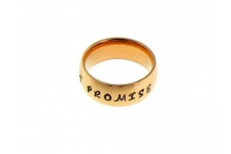 6MM Gold Steel Band
