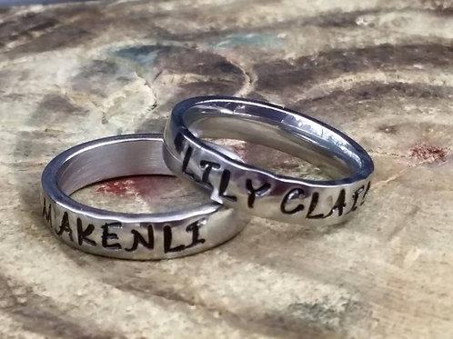 4mm Thin Shiney Ring