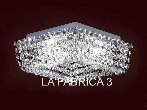 Plafon Patagonia 25x25cm 14w Led - RONDA