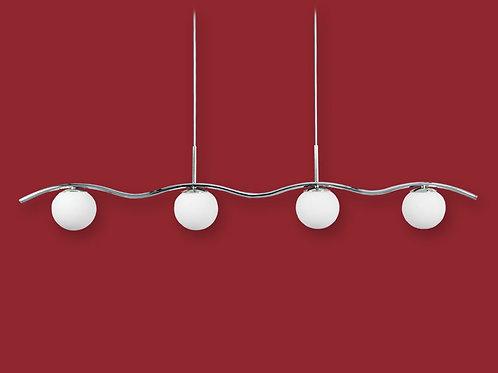 Colgante 4 luces Relleu - Ronda