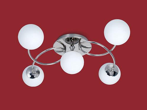 Plafon 5 luces Relleu - Ronda