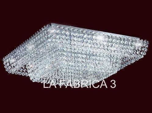 Plafon Patagonia 57x57cm 42w Led - RONDA