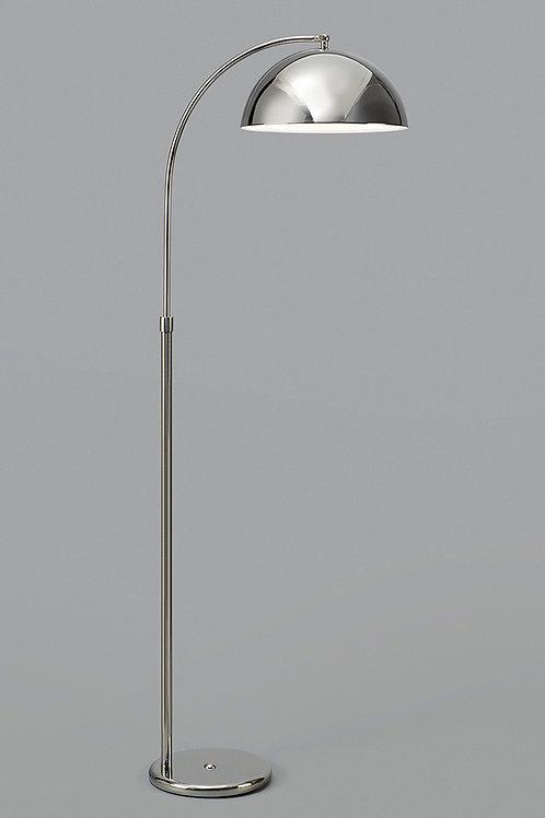 Lampara de pie arco Inter pantalla metalica - NIKEL